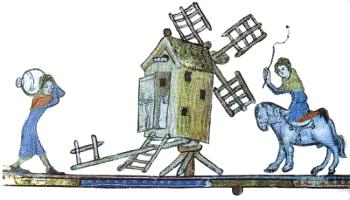 Le moulin Boissey de Pierre-Coupe Moulin_moyenage